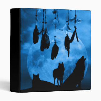 Dreamcatcher Wolves Binder