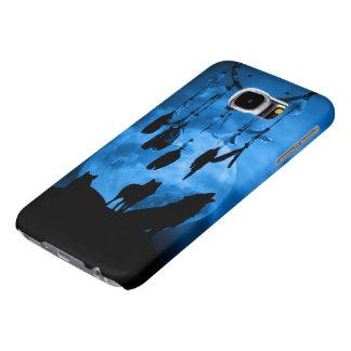 Dreamcatcher Wolves Samsung Galaxy S6 Cases