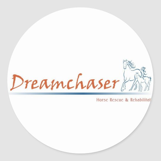 Dreamchaser Logo Classic Round Sticker