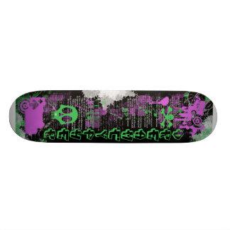 Dreamcypher Splash Design Custom Skateboard