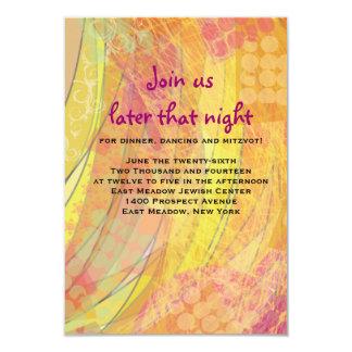 DREAMER Bat Mitzvah Reception Card