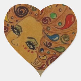 Dreamer Heart Sticker