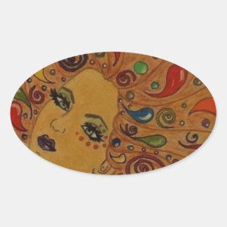 Dreamer Oval Sticker