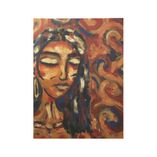 dreamer painting on wood wood poster