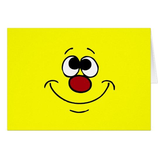 Dreamer Smiley Face Grumpey Card