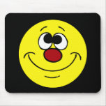 Dreamer Smiley Face Grumpey Mouse Pad