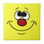 Dreamer Smiley Face Grumpey Tile