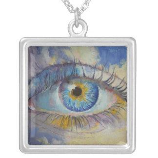 Dreamer Square Pendant Necklace