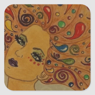 Dreamer Square Sticker