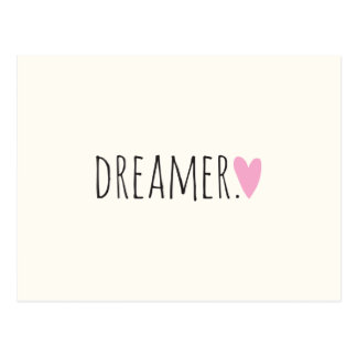 Dreamer with Heart Postcard