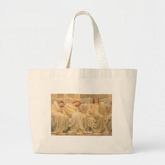 Dreamers by Albert Joseph Moore, Victorian Art Tote Bags