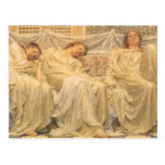 Dreamers by Albert Joseph Moore, Victorian Art Postcards