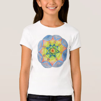Dreamers Mandala Girls' American Apparel Cap Sleev T-Shirt