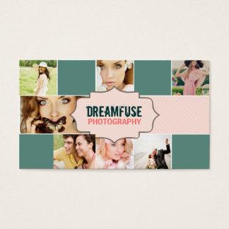 Dreamfuse 7 Photo Custom Business Card