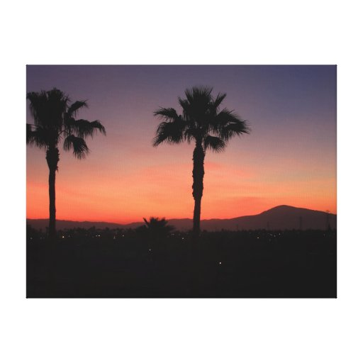 """Dreamin'"" de California Lienzo Envuelto Para Galerias"