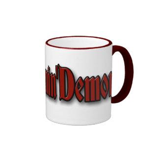 Dreamin' Demon Dead Ringer 15 Ringer Coffee Mug