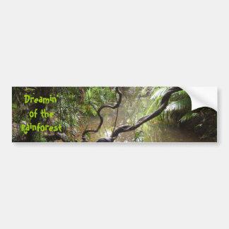 Dreamin' of  the Rainforest Bumper Sticker