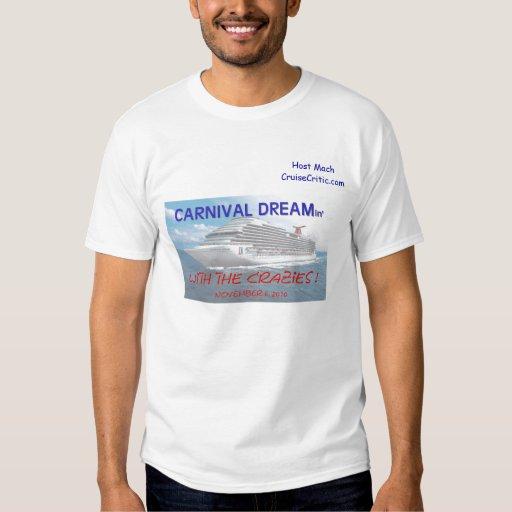 Dreamin t-shirt 2, Host MachCruiseCritic.com