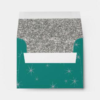 Dreaming a of Retro Christmas Envelope