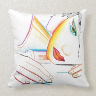 Dreaming throwpillow