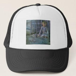 Dreaming boy by Walter Gramatte Trucker Hat