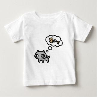 Dreaming Cat Baby T-Shirt