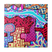 Dreaming Designs Ceramic Tile