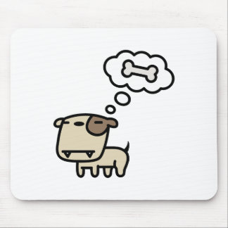 Dreaming Dog Mouse Pad