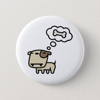 Dreaming Dog Pinback Button