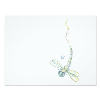 Dreaming Dragonfly 4.25x5.5 Paper Invitation Card
