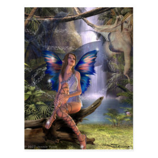 Dreaming Fairy (Postcard)