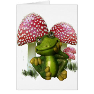 Dreaming Frog Card