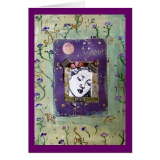 Dreaming Goddess Card card