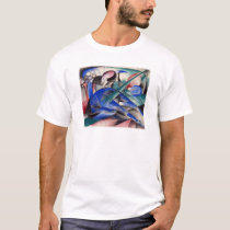 Dreaming Horse by Franz Marc T-Shirt