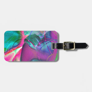 Dreaming in Blue Luggage Tag