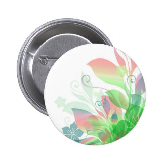 Dreaming in Flowers 2 Pinback Button
