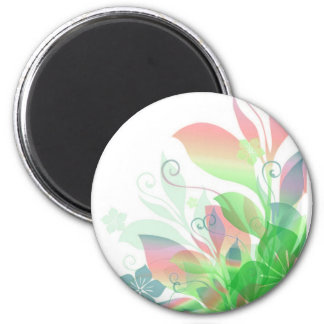 Dreaming in Flowers 2 Magnet