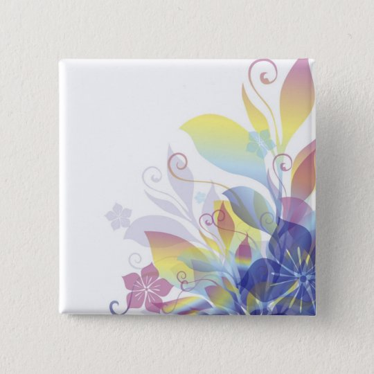 Dreaming in Flowers Button