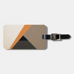 Dreaming In Space #ColorBlocks Luggage Tag