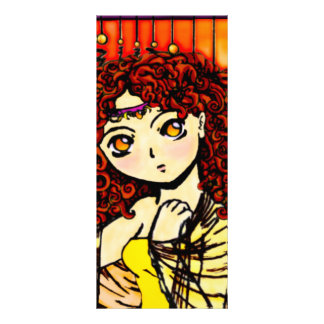 Dreaming in Yellow Rack Card