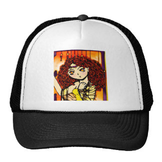 Dreaming in Yellow Trucker Hat