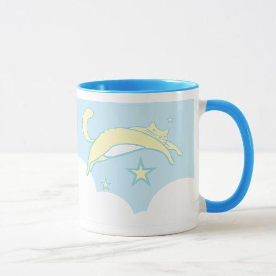 Dreaming Kitty Mug