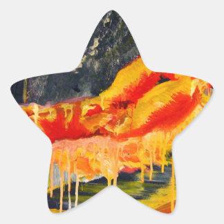 dreaming life model star sticker