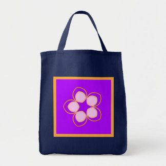 Dreaming Lotus Anime Flower Tote Bag