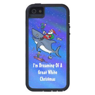 Dreaming Of A Great White Shark Christmas iPhone SE/5/5s Case