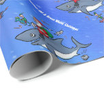 Dreaming of A Great White Xmas Gift Wrapping Paper
