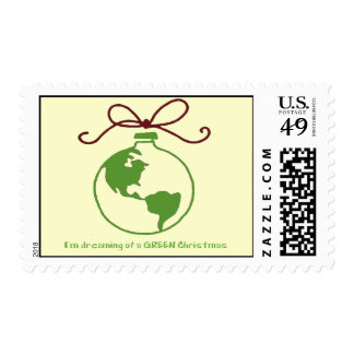 Dreaming of a GREEN Christmas Stamps