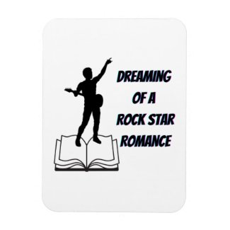 Dreaming of a Rock Star Romance Flexible Magnet