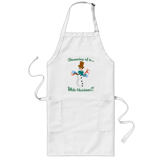 Dreaming Of A White Christmas Apron