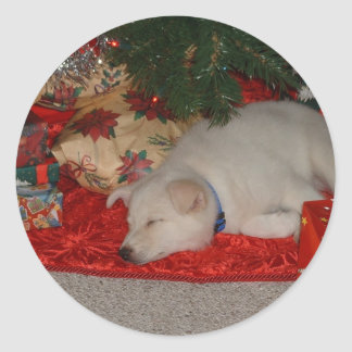 Dreaming of a white christmas sticker